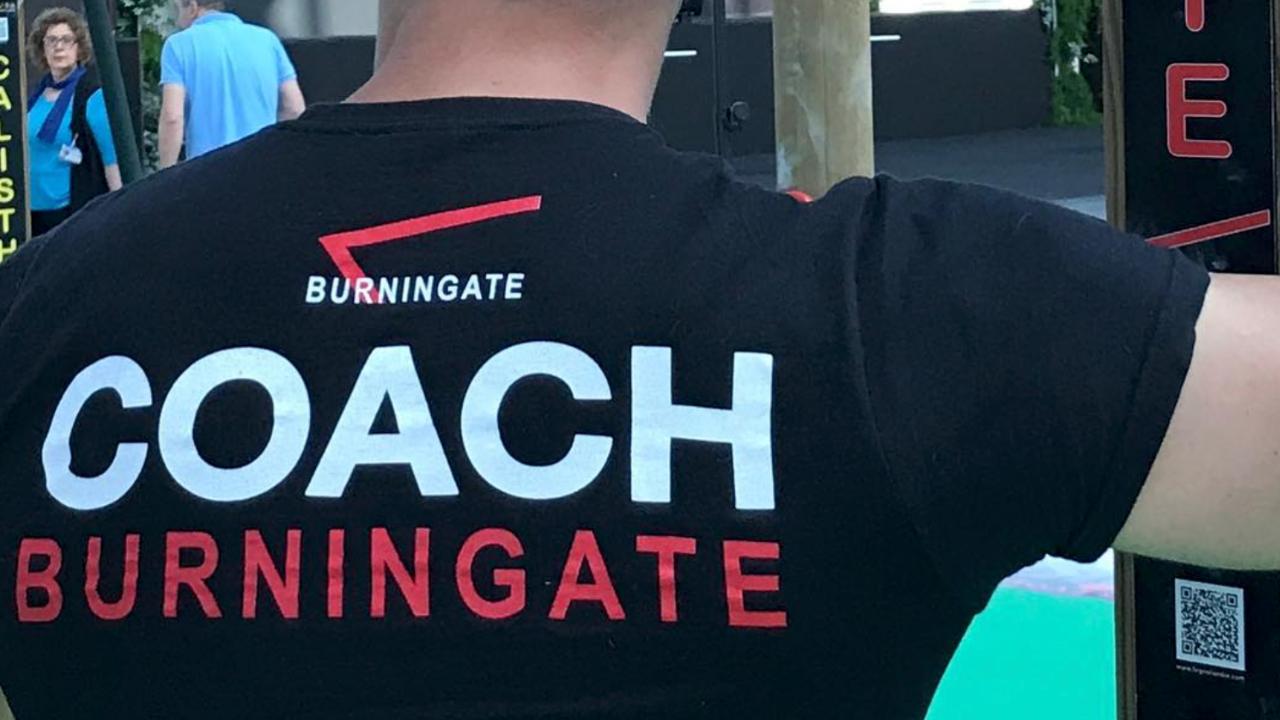coach online Burningate Calisthenics