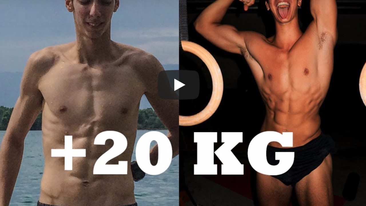 trasformazione fisica + 20kg calisthenics