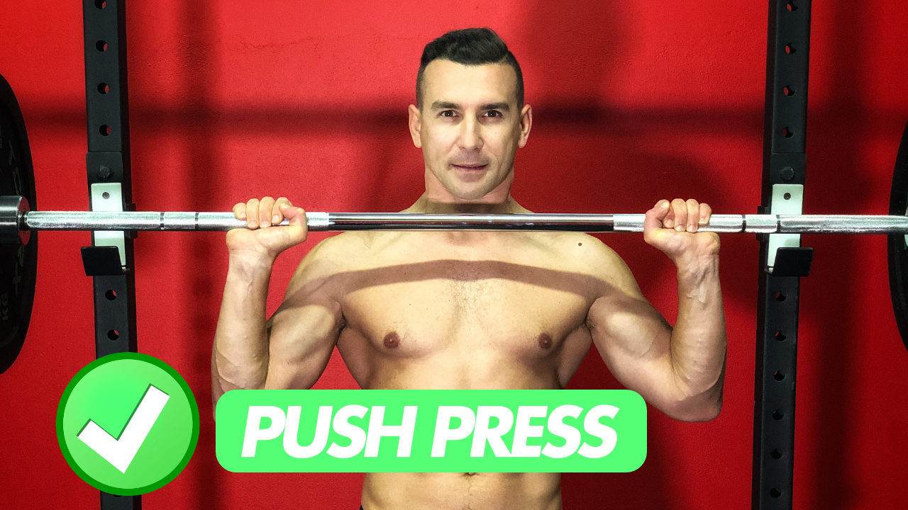 push press spalle