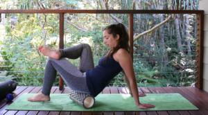 foam roller massaggino glutei