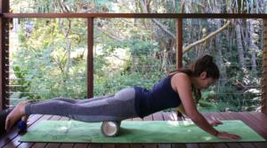 foam roller massaggio quadricipiti