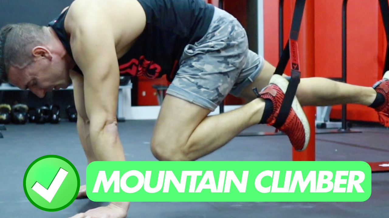 mountain climber trx