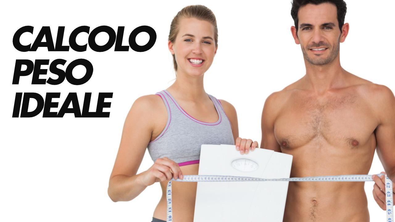 calcolo peso ideale forma