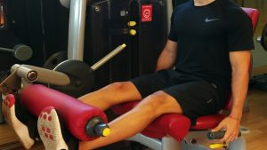 leg extension riabilitazione lca