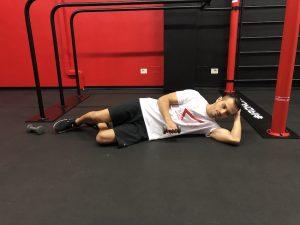 esercizio spalla decubito dolore manubrio inizio
