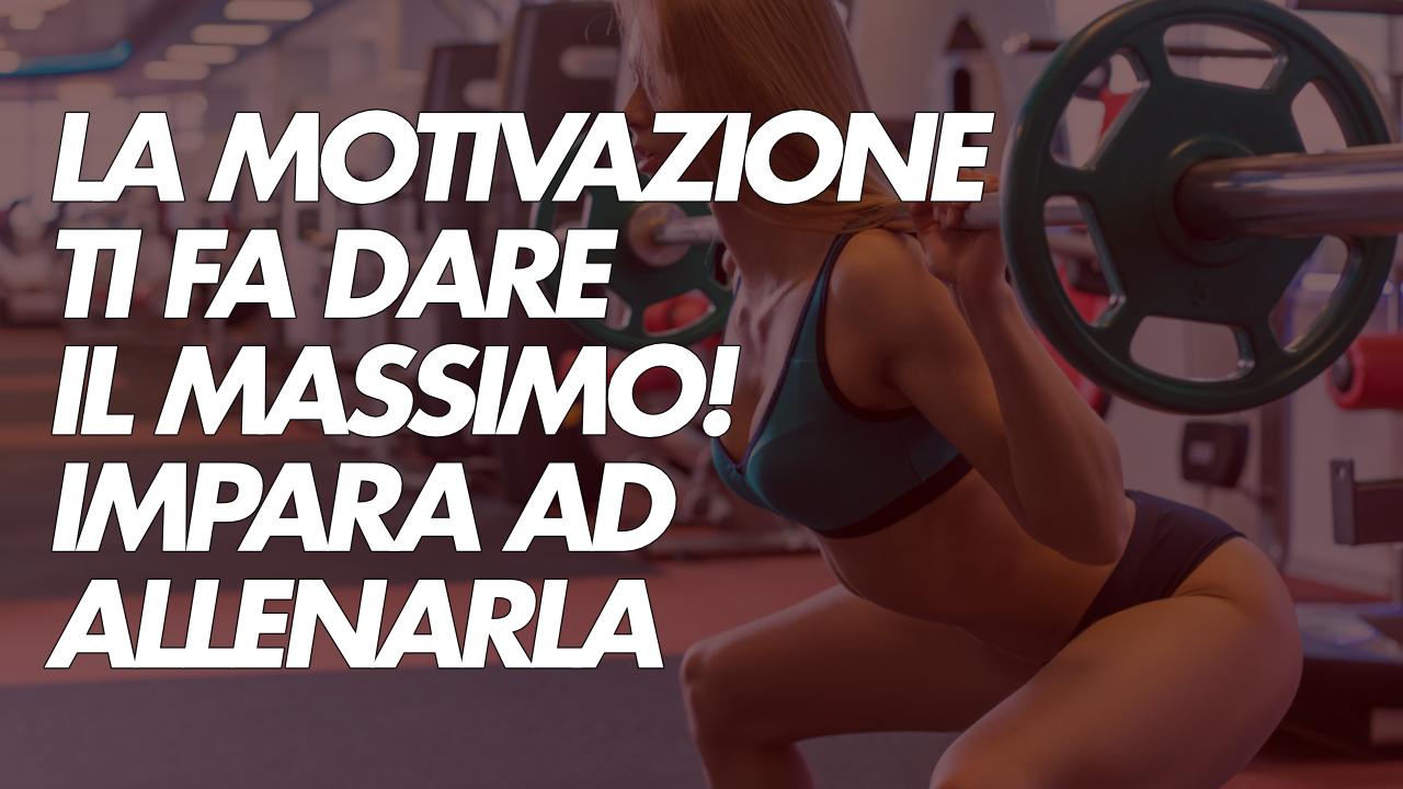 la motivazione nel fitness