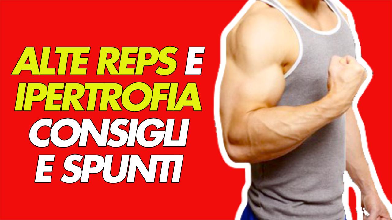 massa muscolare e alte reps
