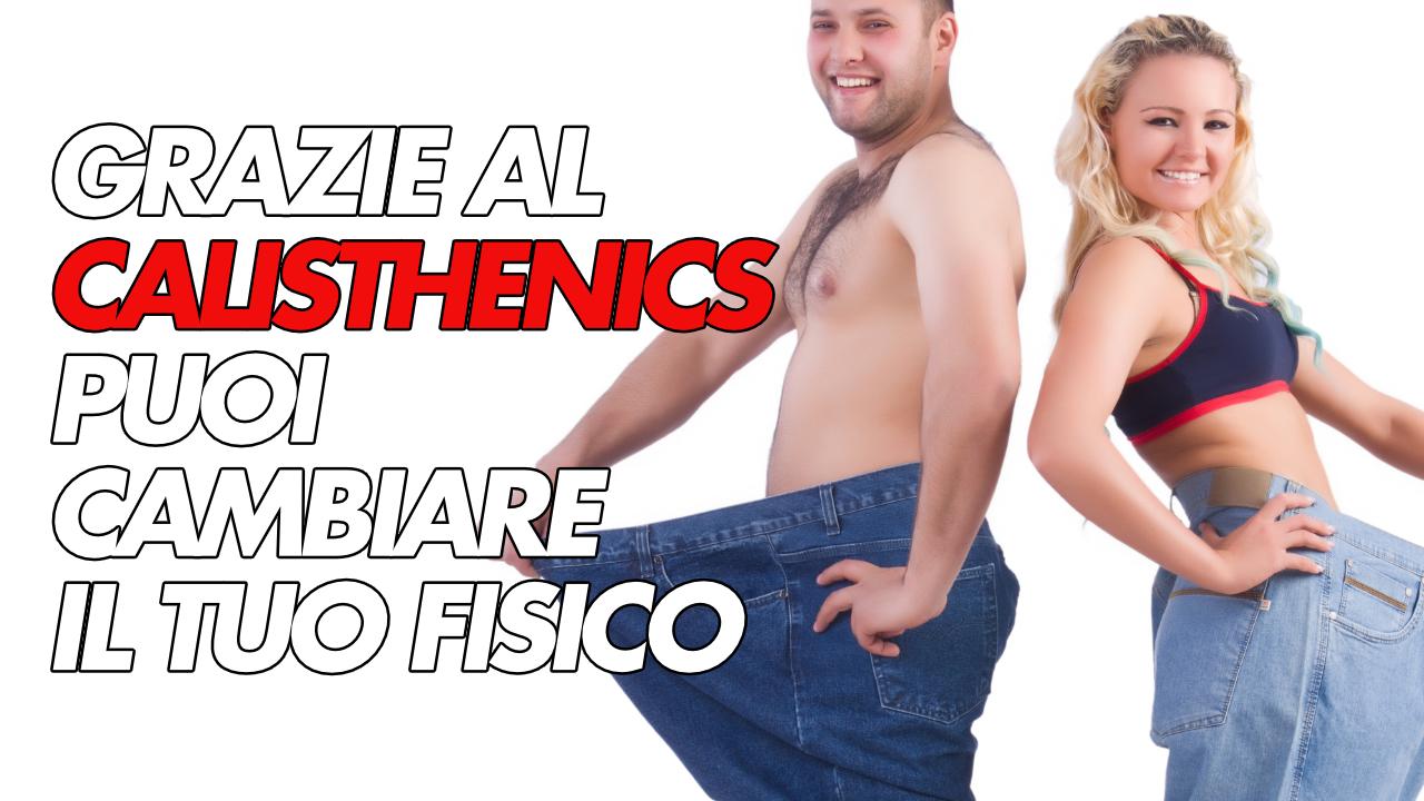 calisthenics per persone fuori forma