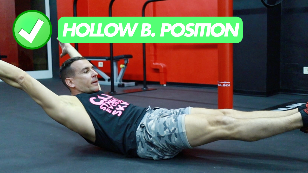 hollow body position calisthenics