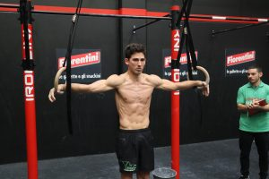 iron cross calisthenics