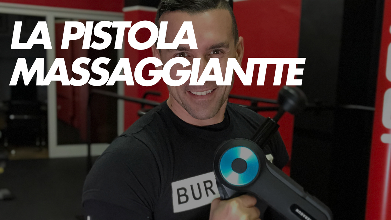 la pistola massaggiante theragun
