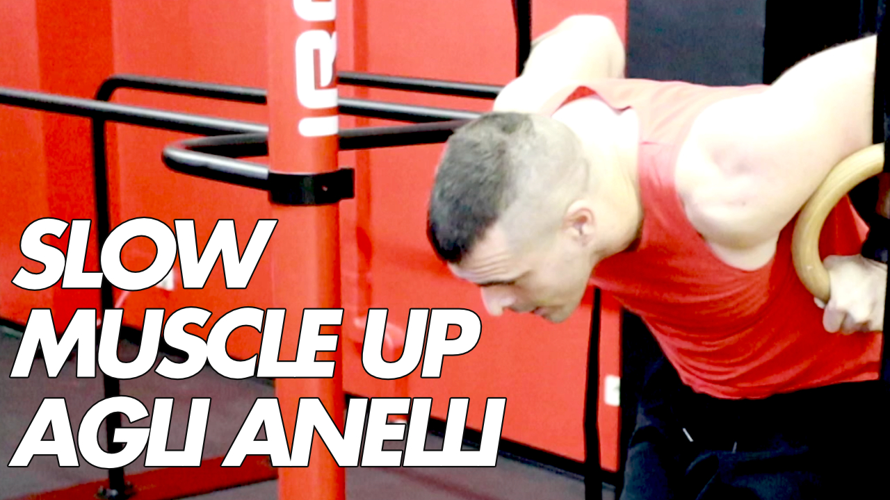 slow muscle up anelli
