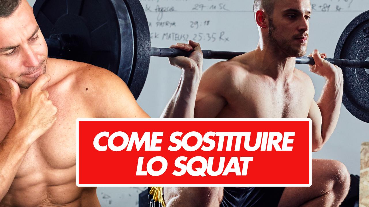 sostituire lo squat