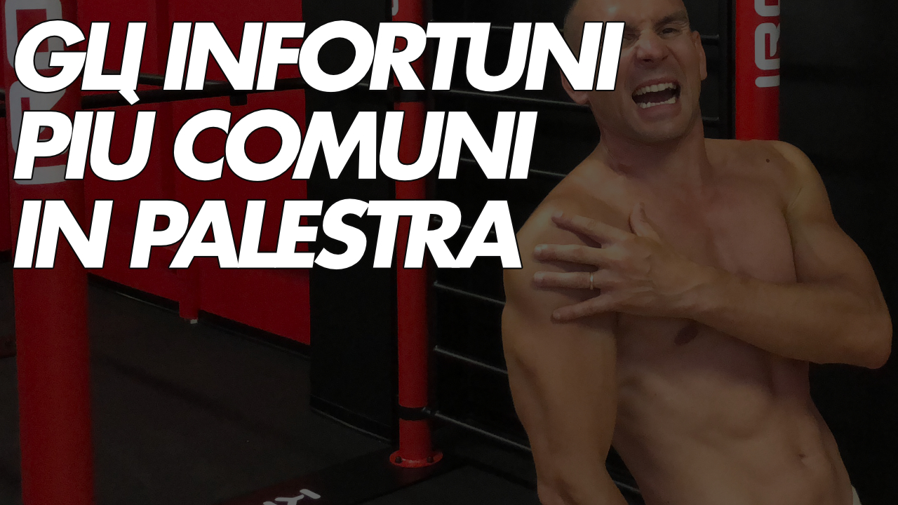 prevenire gli infortuni in palestra