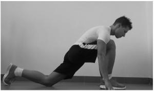 stretching ileo psoas