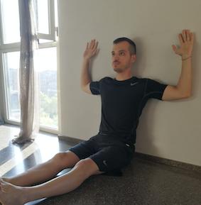 postura muro