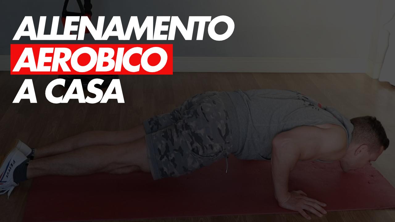 allenamento aerobico a casa
