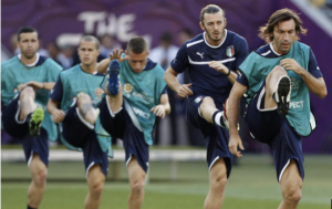 flessibilità calciatore