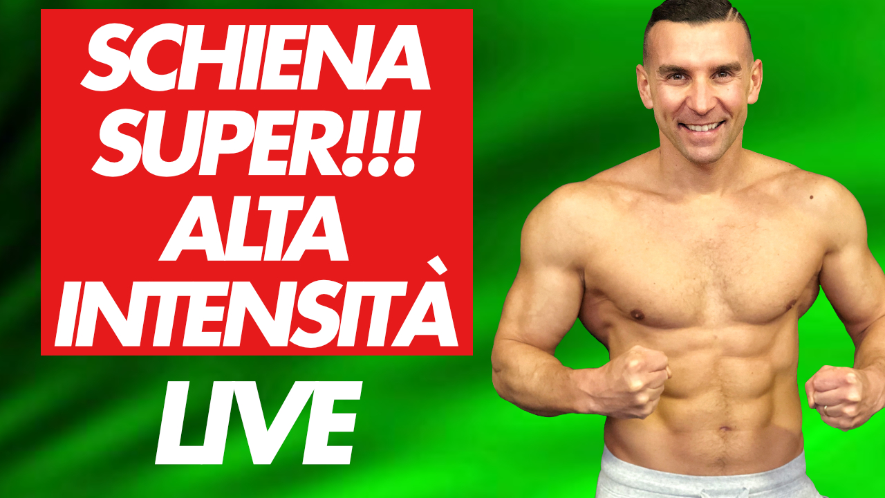 superschiena in live