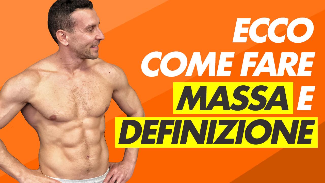 MASSA E DEFINIZIONE