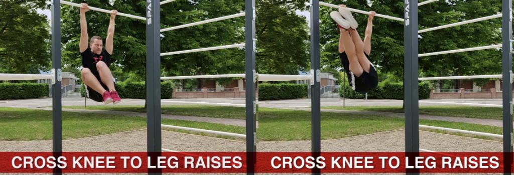 cross knee