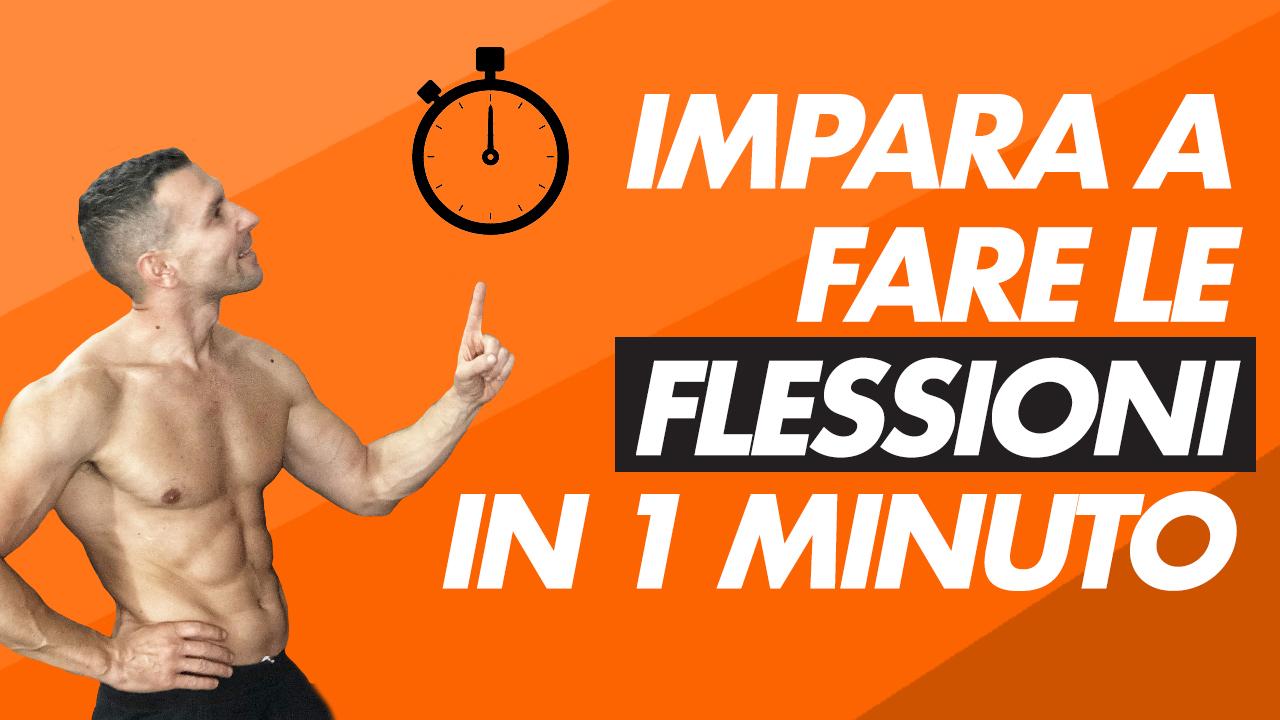 FLESSIONI 1 MIN