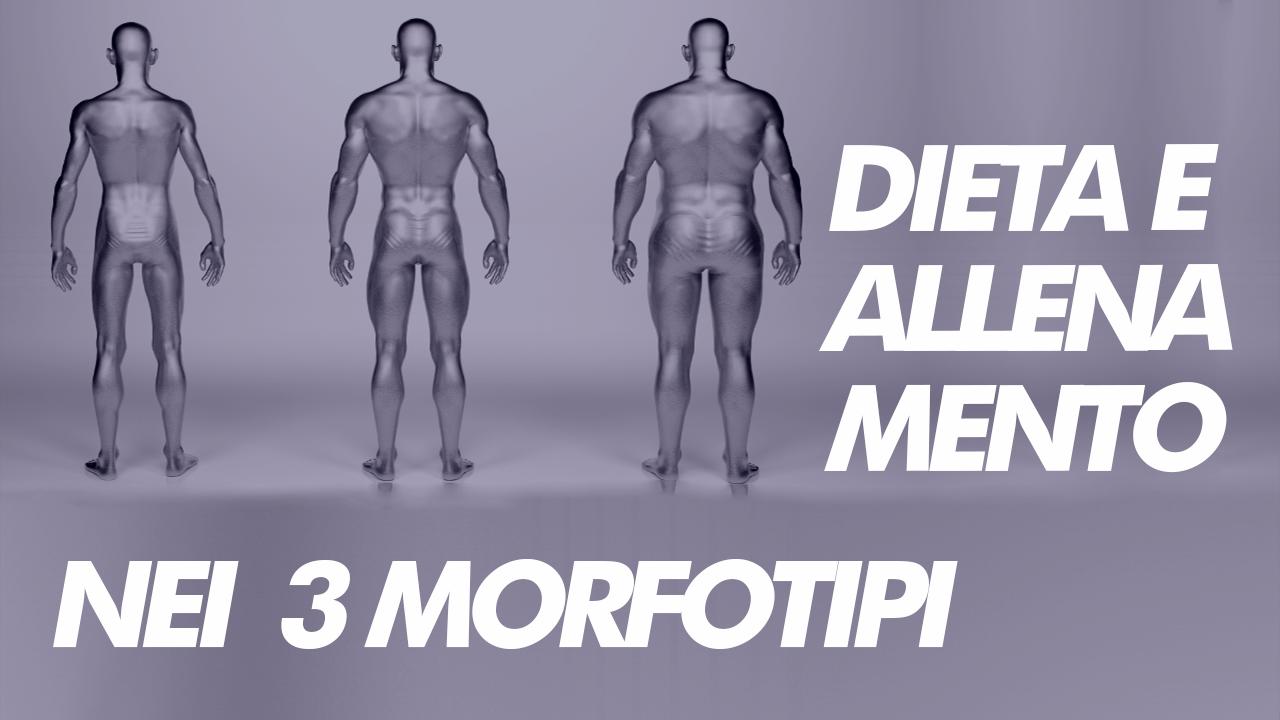 dieta e allenamento somatotipo