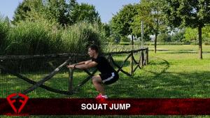 squat jump esplosivo