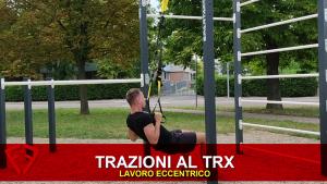 trazioni al TRX