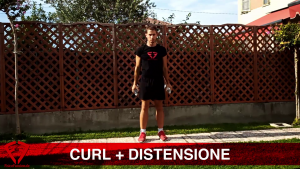 Curl+distensione