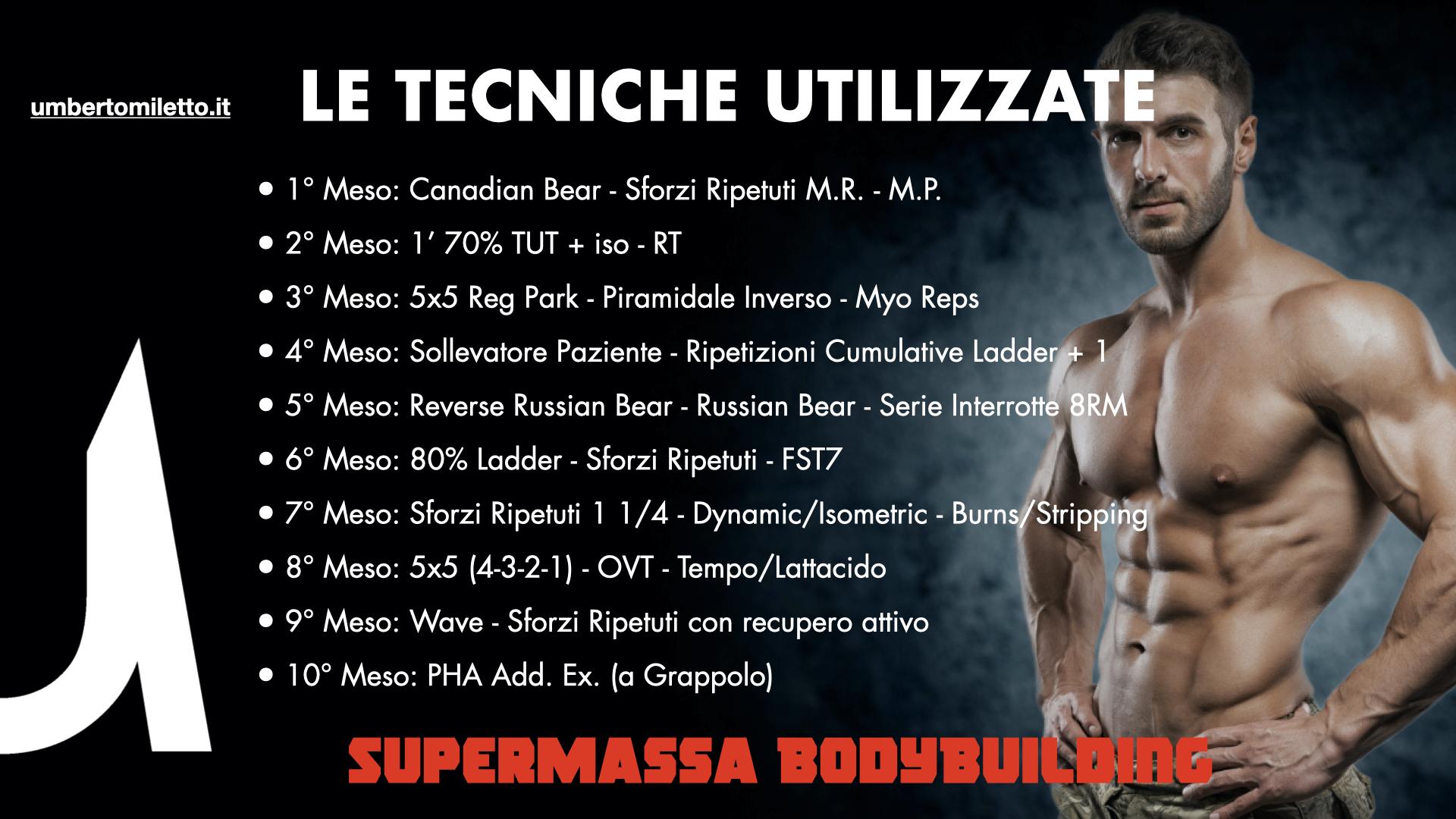 programmazione annuale bodybuilding miletto