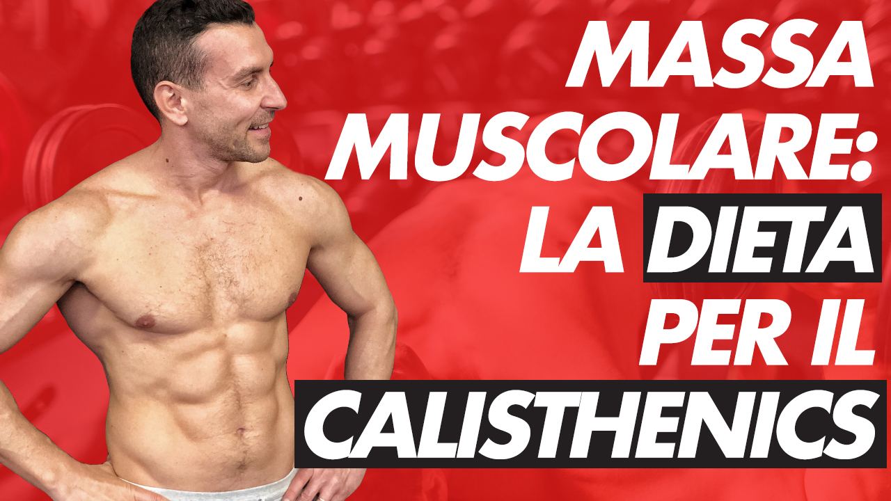 dieta calisthenics