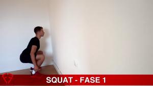 squat al muro