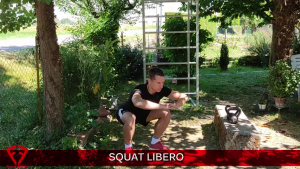squat a corpo libero