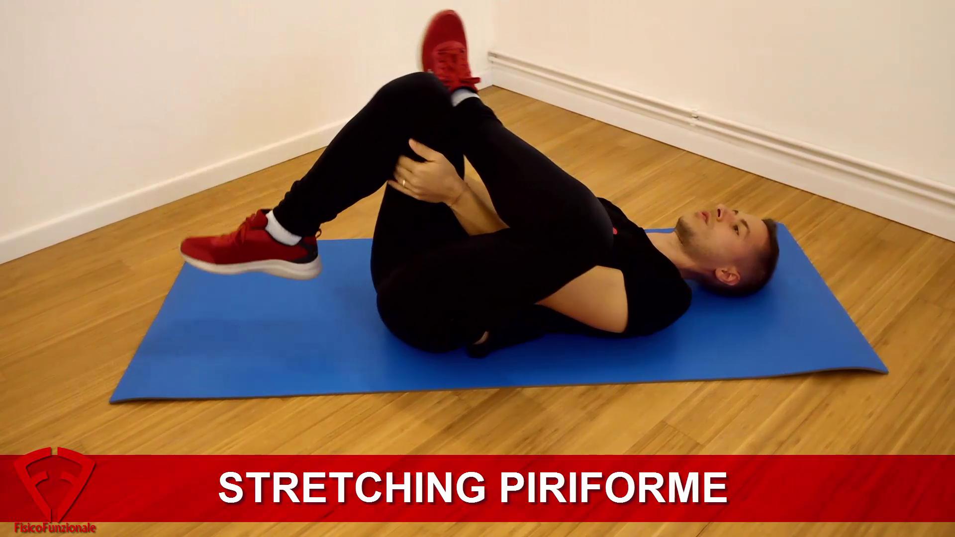 esercizi stretching piriforme