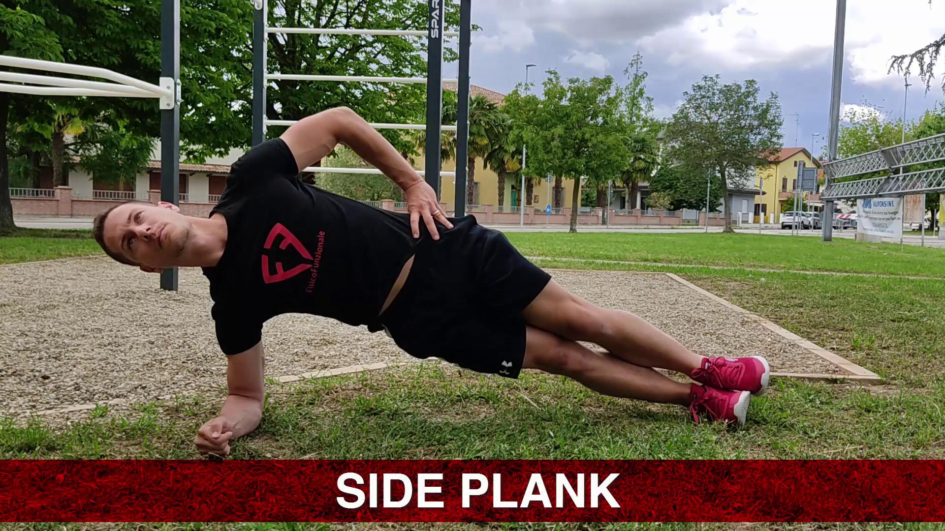 plank e mal di schiena lombare