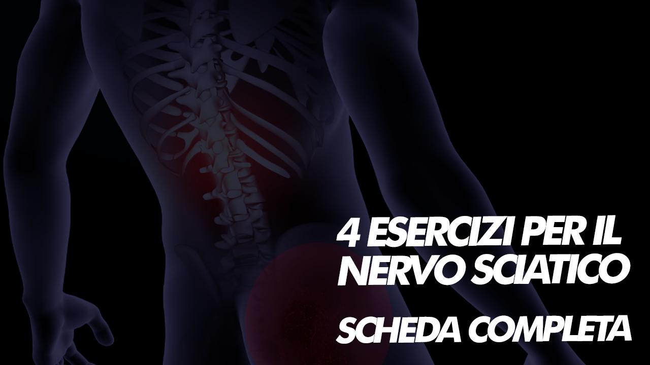 esercizi decompressione per il nervo sciatico