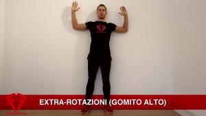esercizi rinforzo spalle cuffia rotatori