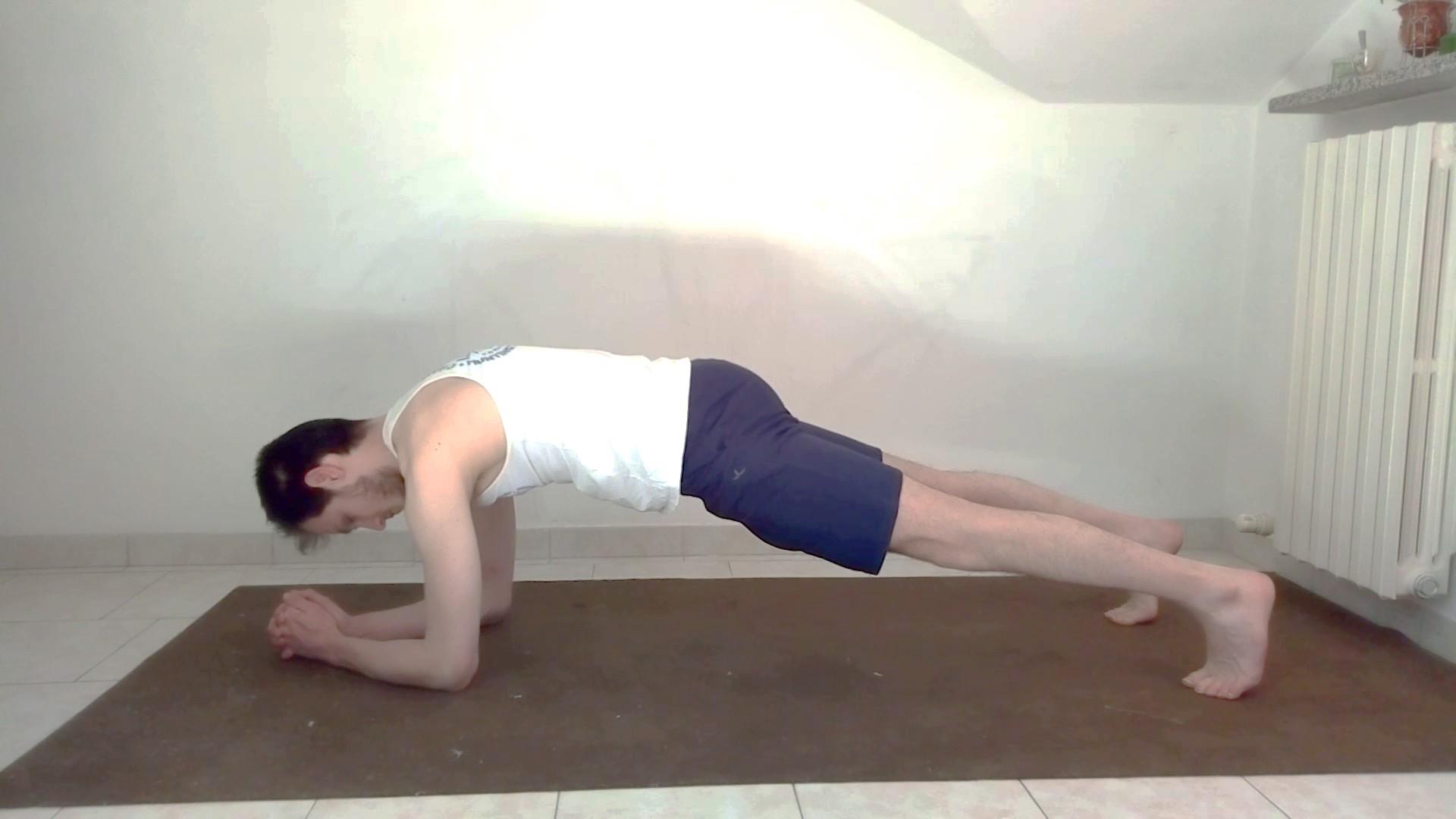 plank esecuzione corretta