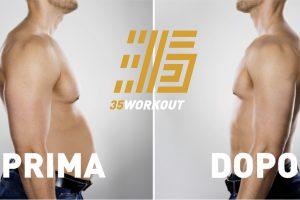 35 workout allenamento