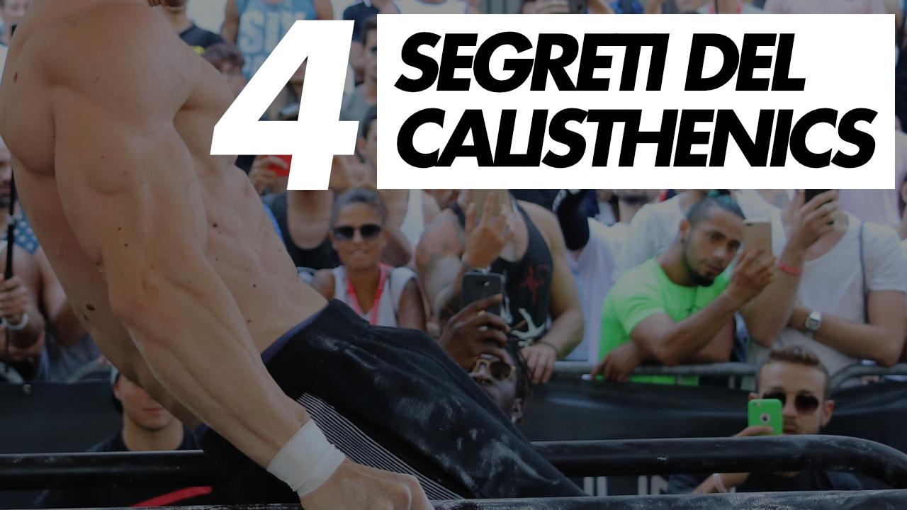 segreti del calisthenics