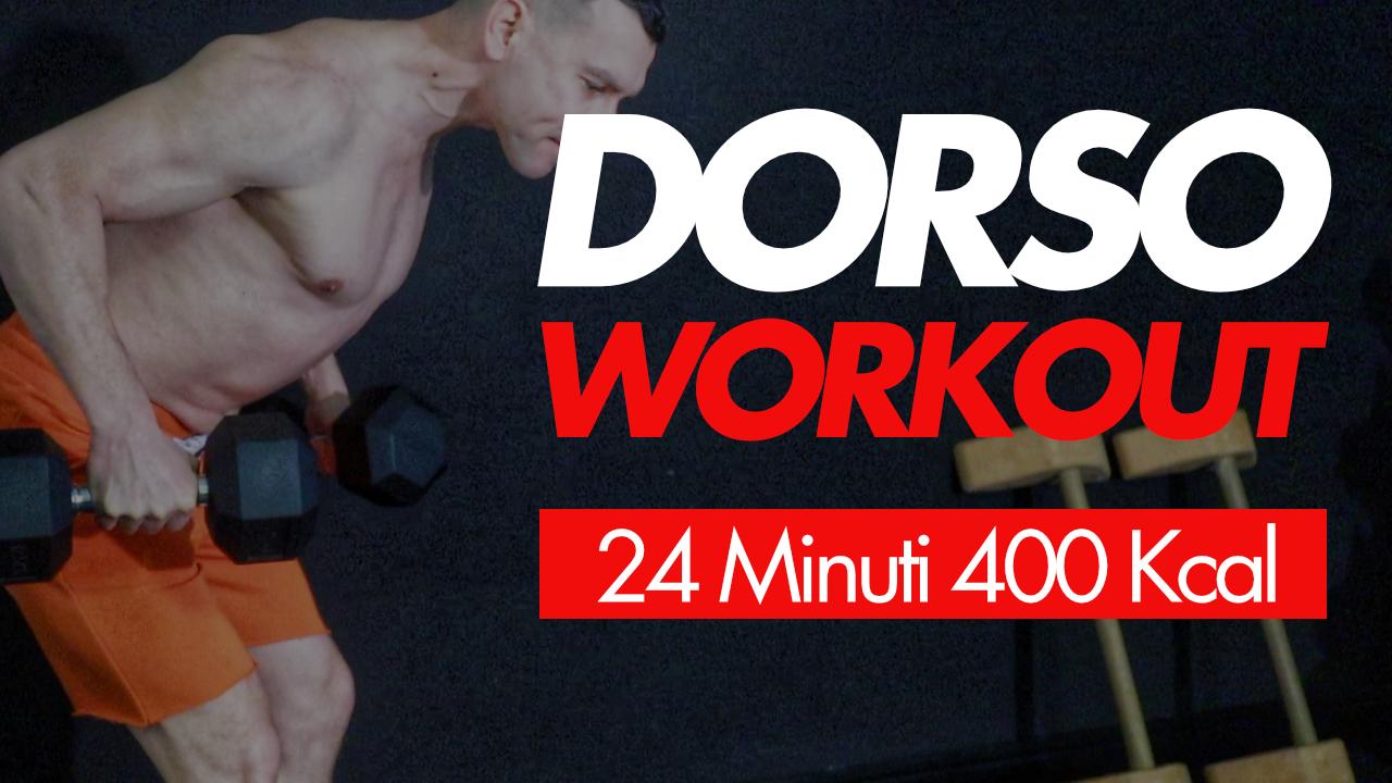 dorso workout