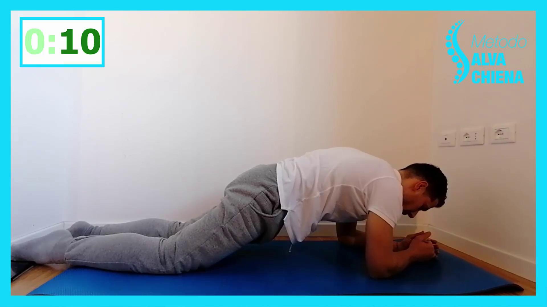 esercizi rinforzo schiena