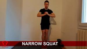 narrow squat