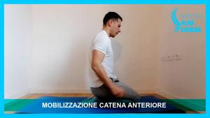 esercizi stretching catena anteriore