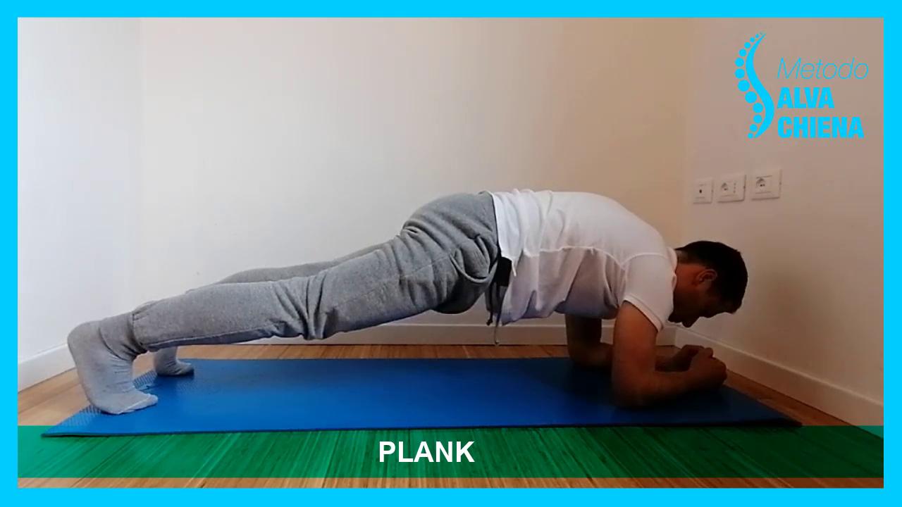 plank salva schiena
