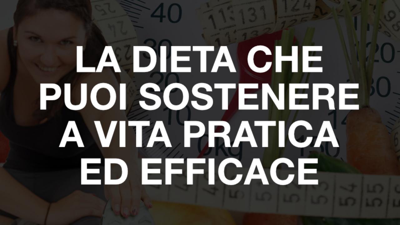 la dieta pratica ed efficace
