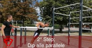 come imparare il muscle up
