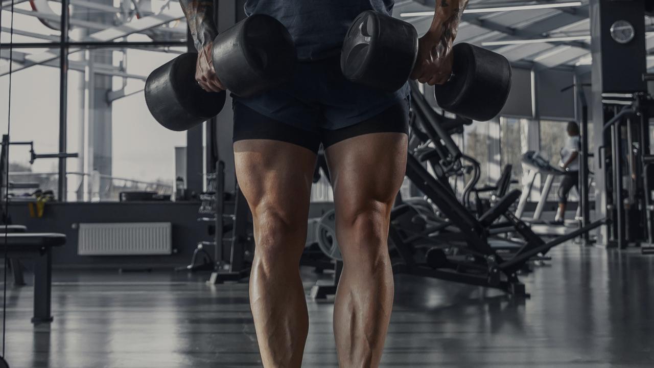 scheda massa gambe 2 manubri