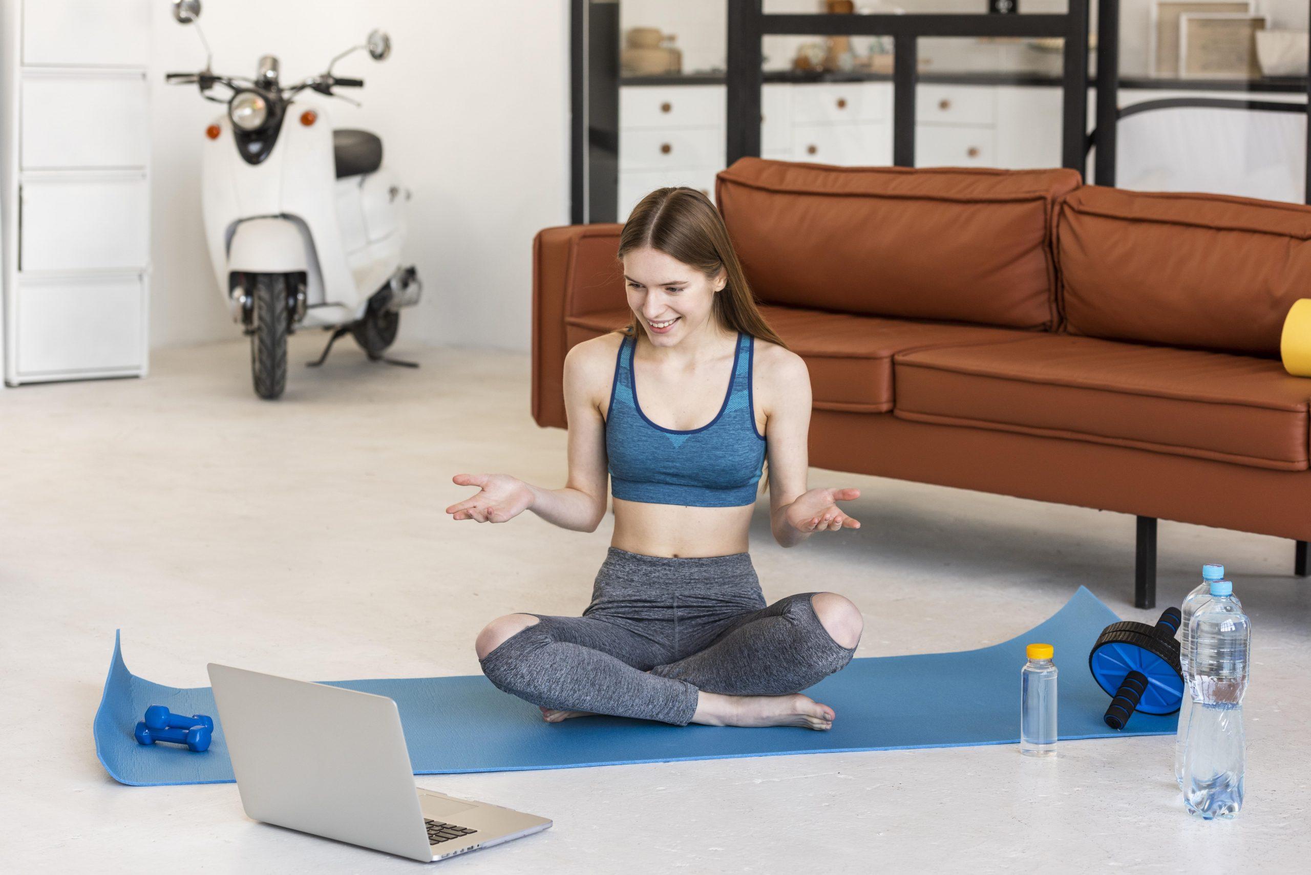 allenamento a casa in streaming